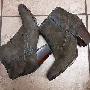 Frye Renee Seam Short Booties